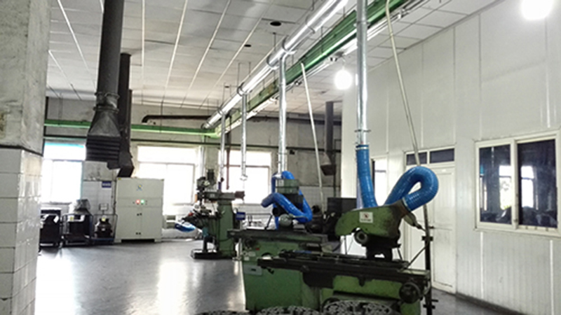 DF series is used in metal cutting and polishing machine