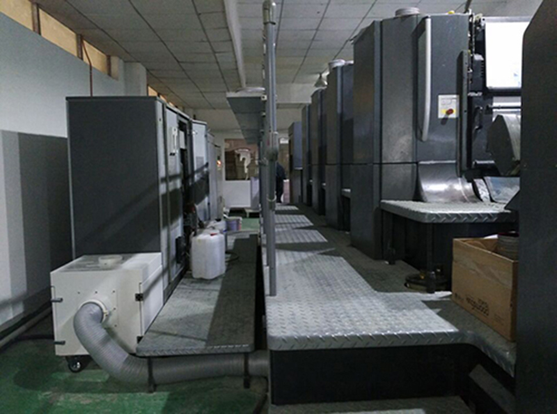 DJ series is suitable for dust removal in printing industry