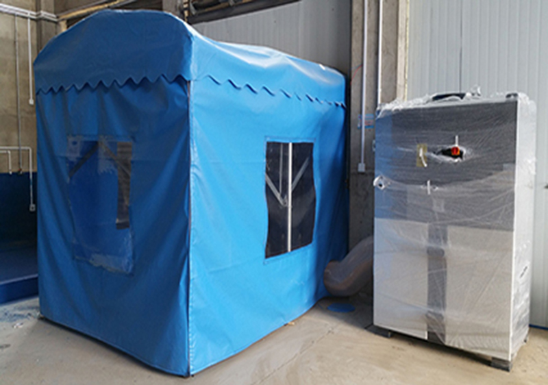 DF series is used for dust removal in simple blasting room