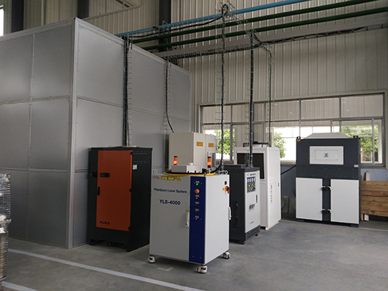 DF series is used for dust removal in a welding station