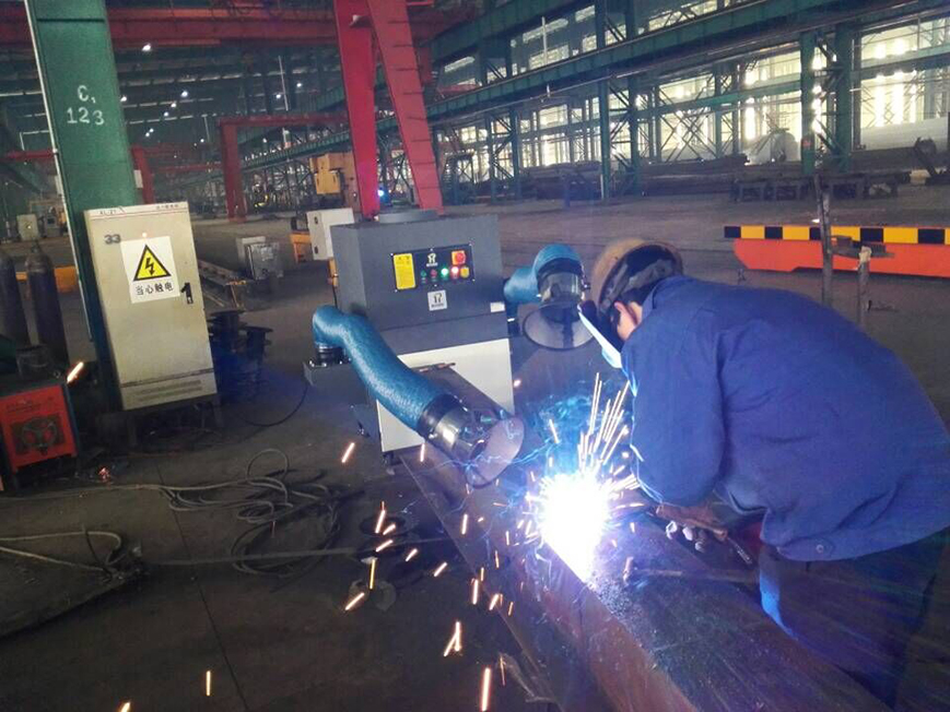 Welding fume and dust management