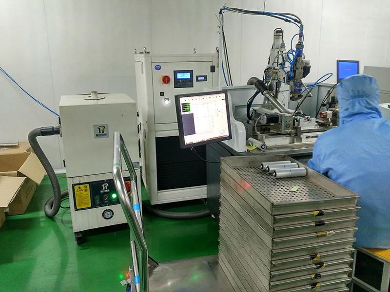 Yifei laser lithium battery welding