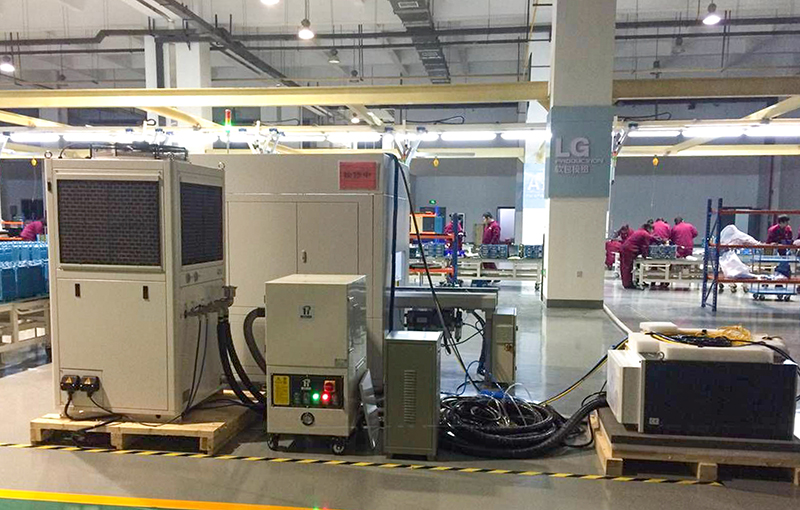 DG applied to laser welding lithium battery