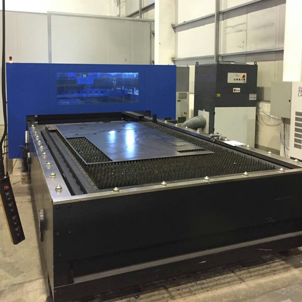 Laser / plasma cutting machine dust removal case